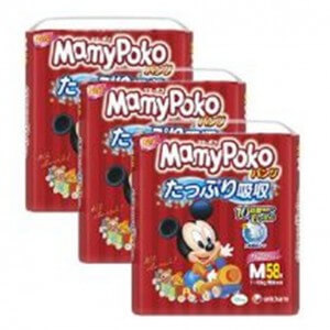 MamyPoko Baby Mickey Pants M58_In 3s