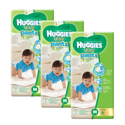 huggies boy pants M36 x 3
