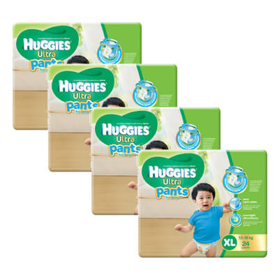 huggies boy pants XL24 x 4