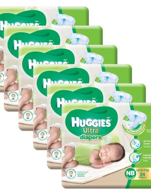 huggies nb24x6