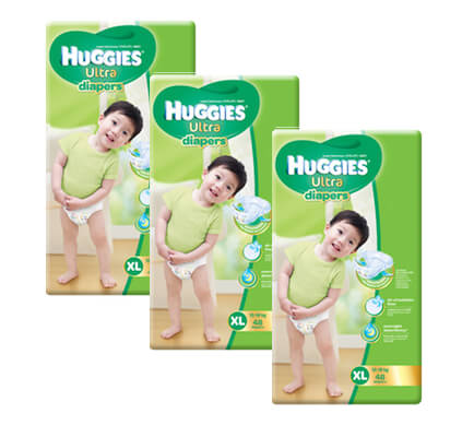 huggies tape XL48x3