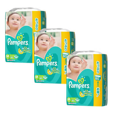 pampers M80 x 3