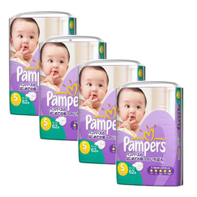 pampers premium s62 x 4