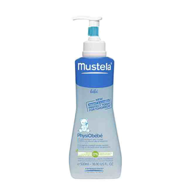 mustela physiobebe no rinse