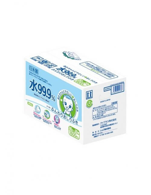 lec-999-pure-water-everyday-baby-wipes-80s-x-20-packs-1600-sheets-per-carton