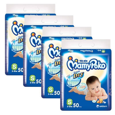 Mamypoko Tape Pampers Diapers
